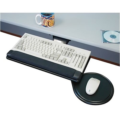 Spacemax Reception Station Accessory; Adjustable Keyboard with Mouse Tray