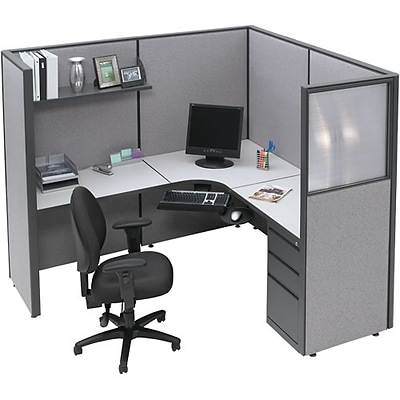 Spacemax Panel Partitions; Corner Workstation