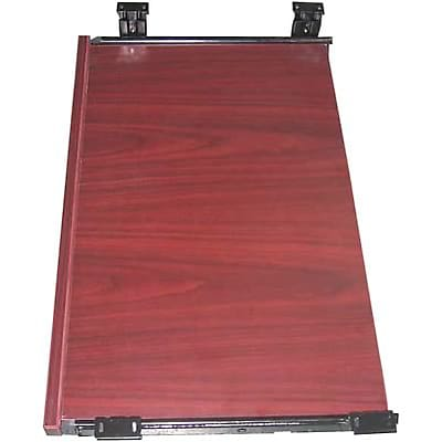 Boss® Laminate Collection in Mahogany Finish; Keyboard Tray