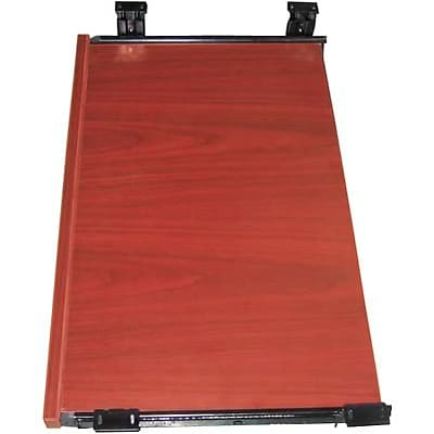 Boss® Laminate Collection in Cherry Finish; Keyboard Tray