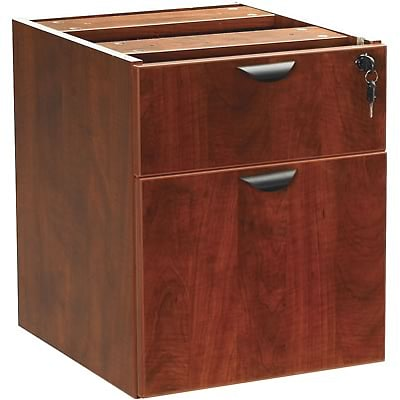 Boss® Laminate Collection in Cherry Finish; Box/File 3/4 Hanging Pedestal