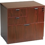 Boss Mahogany Combo Lateral File