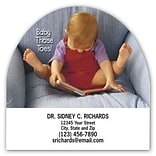 Medical Arts Press® Podiatry Die-Cut Magnets; 2-3/4x2-3/4, Baby Those Toes