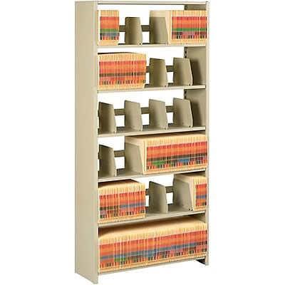 Add-on Unit for Snap-Together Open Shelving, 7-Shelves, 88H x 36W