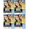 Photo Image Laser Postcards; Smile reflects style, Couple / blue & yellow