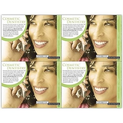 Photo Image Laser Postcards; Cosmetic Dentistry