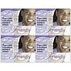 Photo Image Laser Postcards; Friendly, Purple