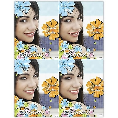 Photo Image Laser Postcards; We help great smiles bloom