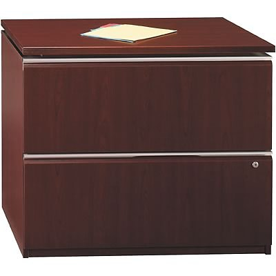 Bush® Contemporary Collection; Harvest Cherry, Lateral File, Fully Assembled