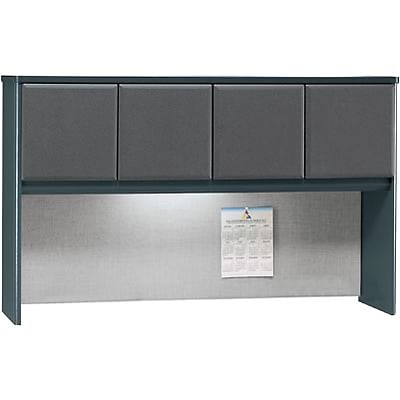 Bush® Cubix® Collection in Slate Finish; 60 Hutch, Ready to Assemble