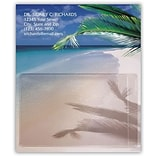 Medical Arts Press® Generic Card Holder Magnets; Palm Branch with Ocean
