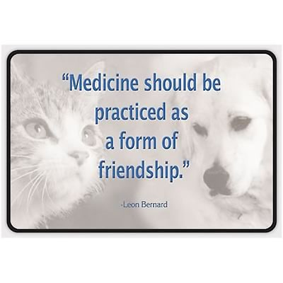 Medical Arts Press® Full-Color Plaques; Medicine & Friendship