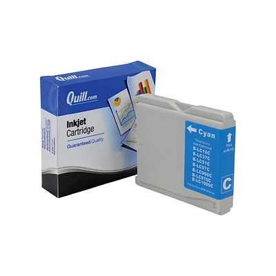 Quill Brand Compatible Brother® MFC240C (LC51C) Cyan Ink Cartridge (100% Satisfaction Guaranteed)