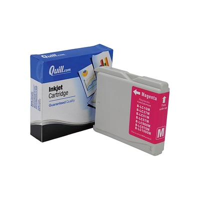 Quill Brand Compatible Brother LC51M Inkjet Cartridge; Magenta (100% Satisfaction Guaranteed)