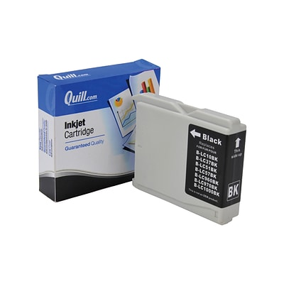 Quill Brand Compatible Brother® MFC240C (LC51BK) Black Ink Cartridge (100% Satisfaction Guaranteed)