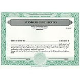 Assorted Corporate Stock Certificates