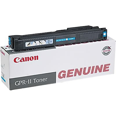 Canon® 7628A001AA (GPR-11) Digital Copier Toner Cartridge; Cyan
