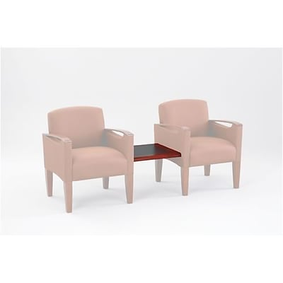 Lesro Brewster Series Reception Furniture; Connecting Center Table