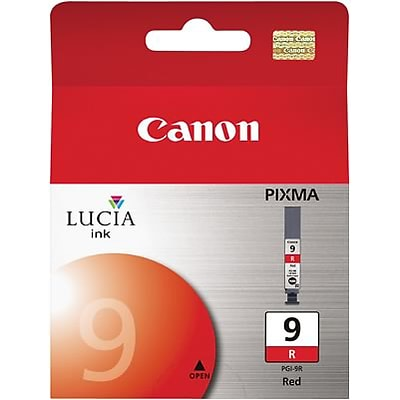 Canon® PGI-9 Ink Cartridge; Red