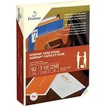 Domtar® 110 lb. Card Stock; Ivory