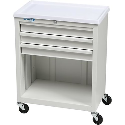 Treatment and Procedure Cart; 3 Drawer