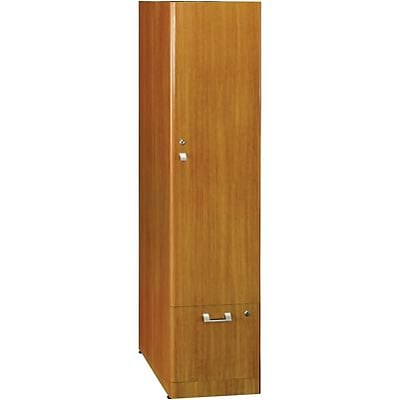 Bush® Quantum Series™ Collections; Modern Cherry, Tall Storage Tower, Ready to Assemble
