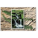 Medical Arts Press® Greeting Cards; Fern,  Personalized