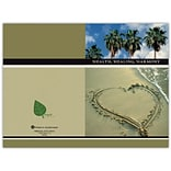 Medical Arts Press® Chiropractic Greeting Cards; Palm Tree, Blank Inside