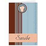 Medical Arts Press® Dental Greeting Cards; Smile,  Personalized