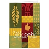 Medical Arts Press® Greeting Cards; Patch Work,  Blank Inside