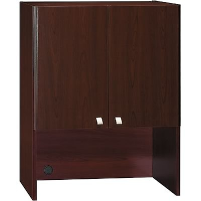 Bush® Quantum Series™ Collections; Harvest Cherry Finish, 30 Storage Hutch, Ready to Assemble
