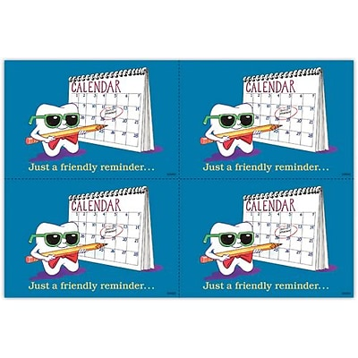 Toothguy® Dental Laser Postcards; Calendar