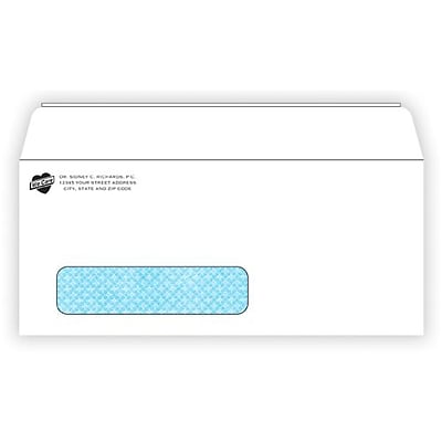 #10 Confidential Envelopes with Window, Peel & Seel® Closure