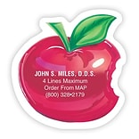 Medical Arts Press® Dental Die-Cut Magnets; 3x3, Apple