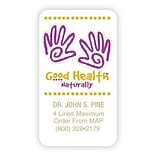 Medical Arts Press® Chiropractic Business Card Magnets; Health Naturally