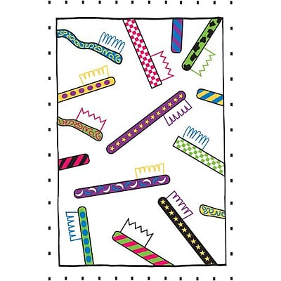 Medical Arts Press® Dental Laser Postcards; Colorful Neon Toothbrushes