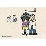 Medical Arts Press® Eye Care Standard 4x6 Recycled Postcards; Dr. Dewey® Its Time