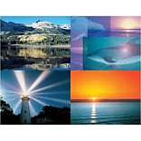 Medical Arts Press® Assorted Laser Postcards; Lake Sunset