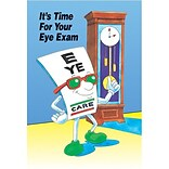 EyeGuy® Eye Care Standard 4x6 Postcards; Time For Exam