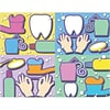 Graphic Image Assorted Laser Postcards; Dental Health Assortment