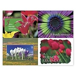 Medical Arts Press® Assorted Laser Postcards; Bright Flower Assortment