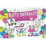 EyeGuy® Eye Care Standard 4x6 Postcards; Happy Birthday from your Eye Care Team