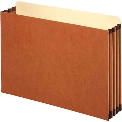 Quill Brand® File Cabinet Pockets; 3-1/2 Expansion, Legal Size