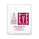 Medical Arts Press® Eye Care Personalized 1-Color Supply Bags, 7-1/2x9, Professional EC Chart