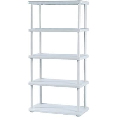 Iceberg® Rough N Ready 5-Shelf Storage System; Platinum