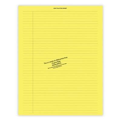 Medical Arts Press® Continuation Notes