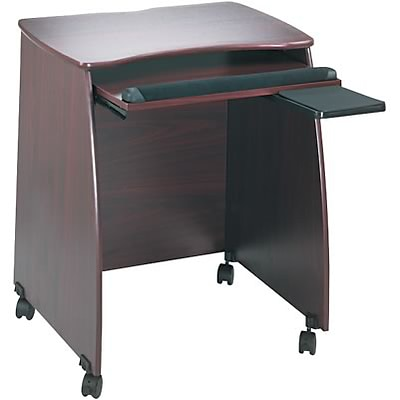 Safco® Picco™ Duo-Mobile Workstation; Mahogany