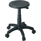 Safco® Black Industrial Office Stool