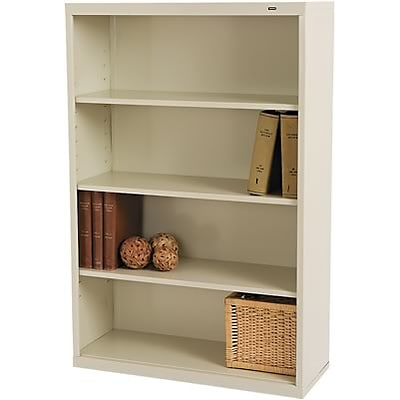 Tennsco® Metal Bookcases in Putty; 52-1/2