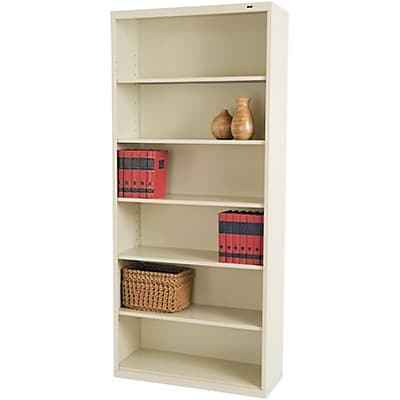 Tennsco® Metal Bookcases in Putty; 78